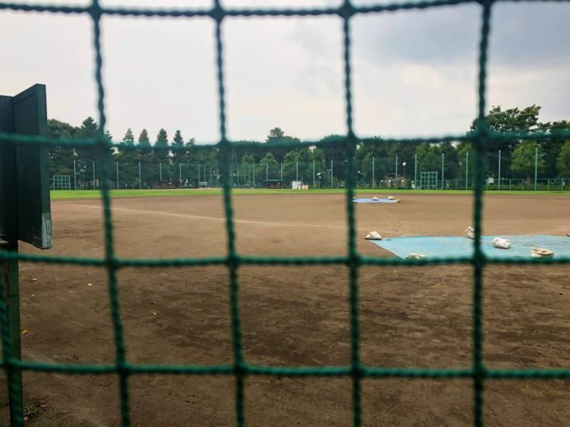 羽根木公園野球場