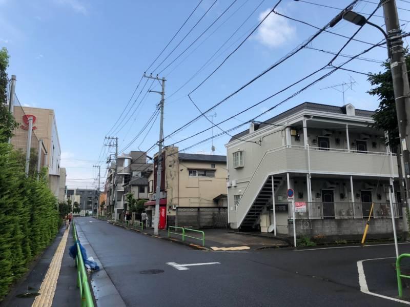 東京都練馬区中村北4丁目のアパート