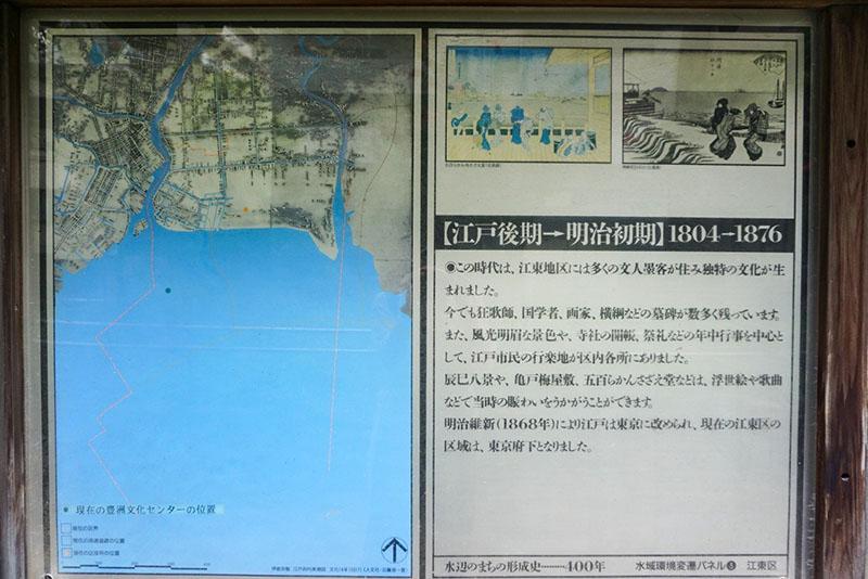 昔の江東区の地図