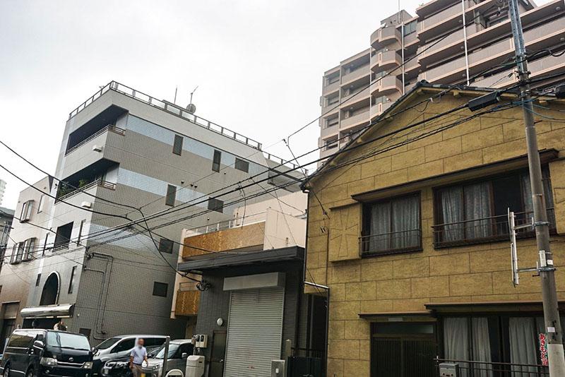 宮田製作所の通り