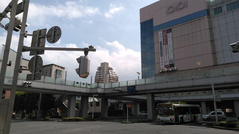 志木駅東口前ロータリー
