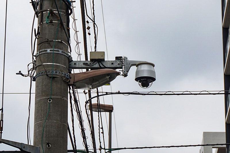 街頭防犯カメラ