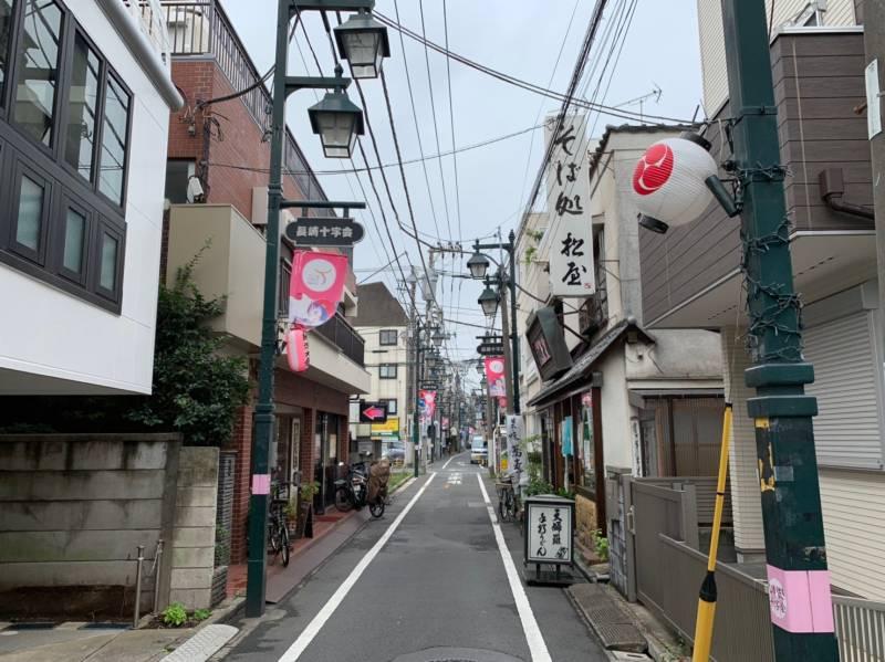 東長崎北側の商店街