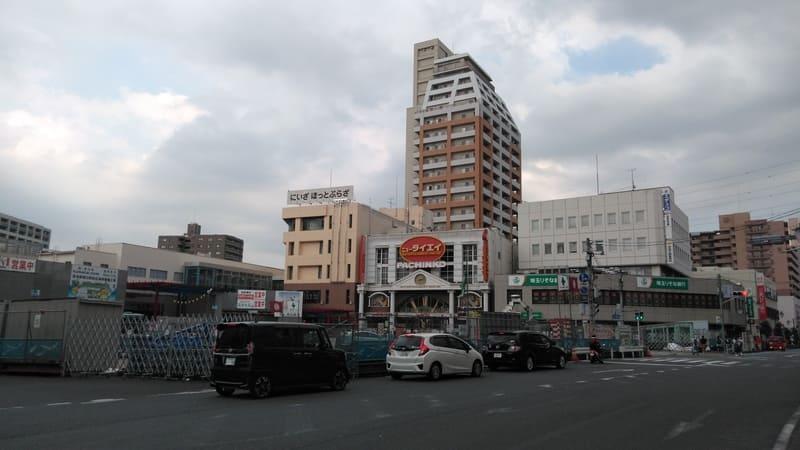 志木駅の南側