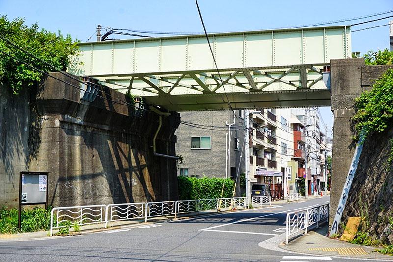 テントウムシ公園側の陸橋