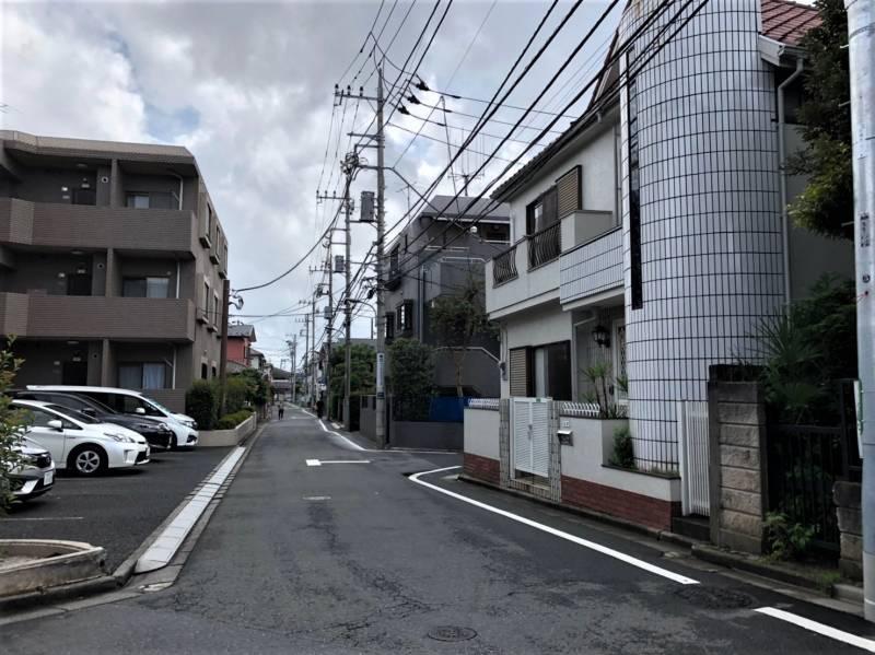 東京都練馬区南田中5丁目の住宅街