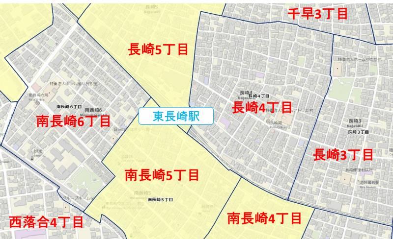 駅周辺の粗暴行為マップ