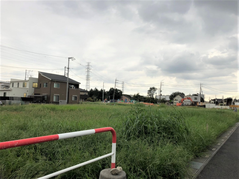 戸田市大字新曽の空き地