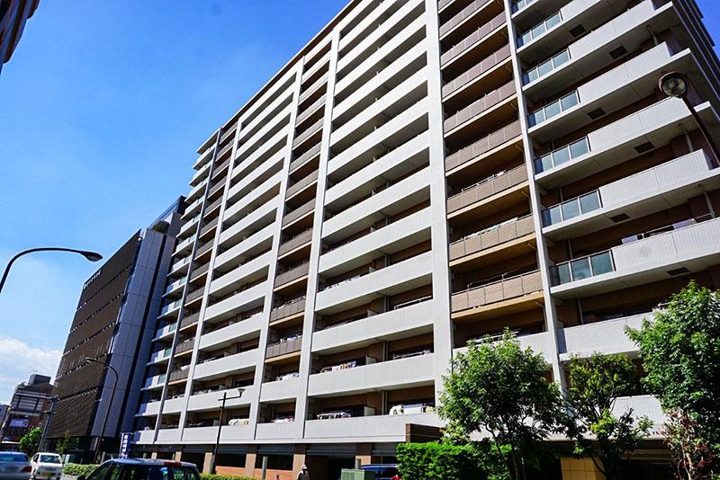 江北橋通りのマンション