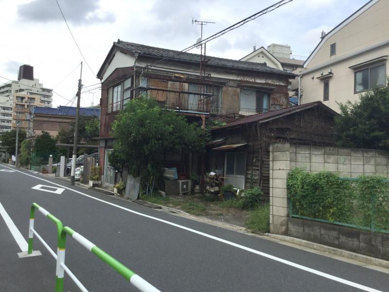 千川駅周辺の古い邸宅