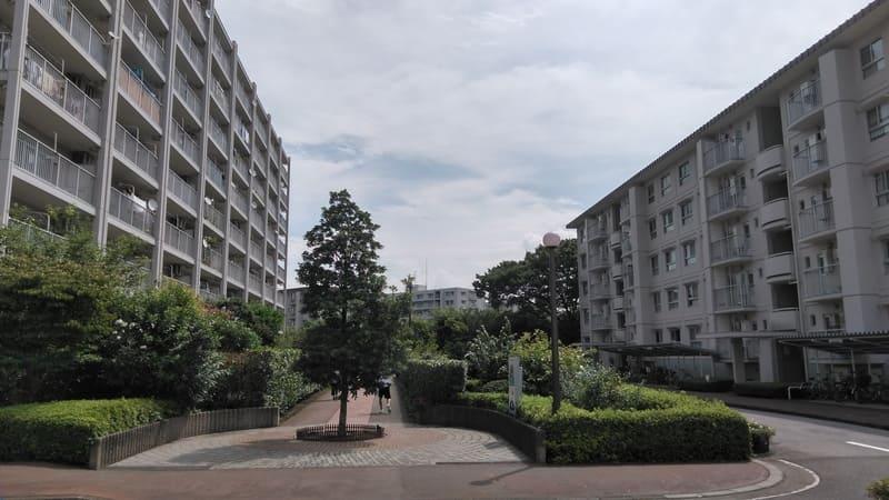 柳瀬川駅 周辺の団地
