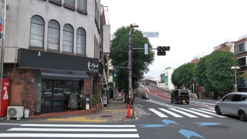 井荻駅付近 南側 環八通り沿い