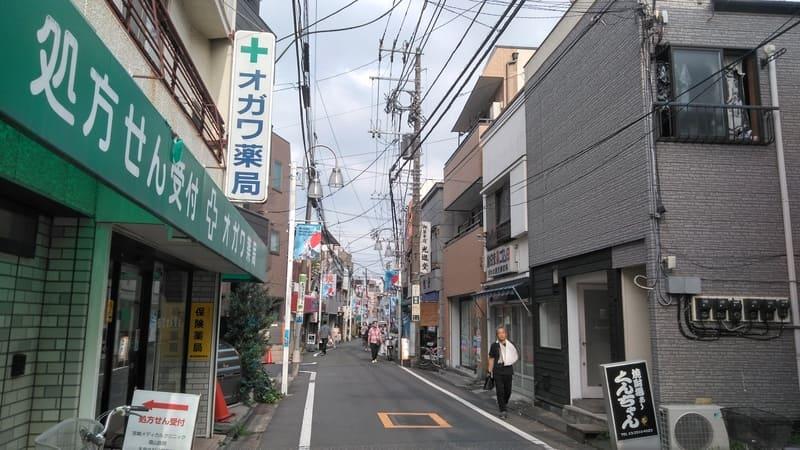 野方駅南側 商店街