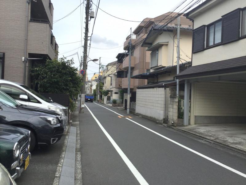 千川駅周辺の住宅街2