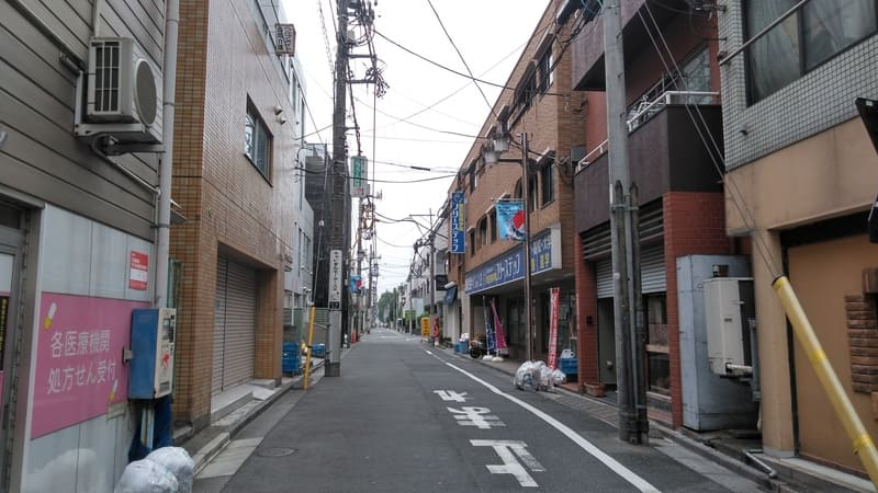 井荻駅 北側の裏路地