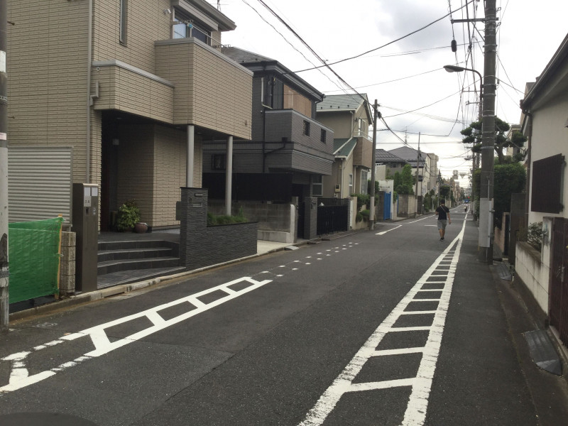 千川駅周辺の住宅街7