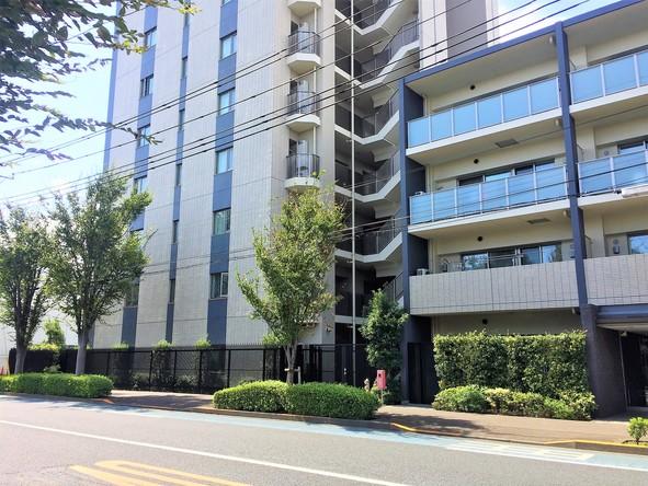 北大通り沿いのマンション2