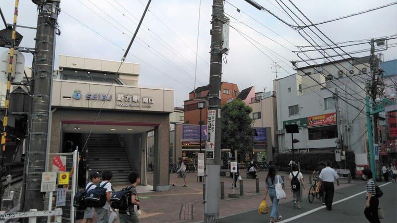 野方駅南口前