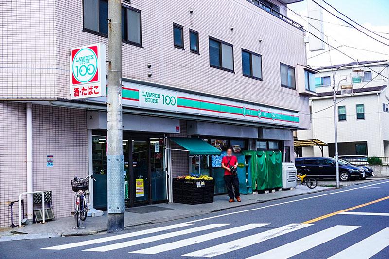 ローソンストア100 江戸川松島店