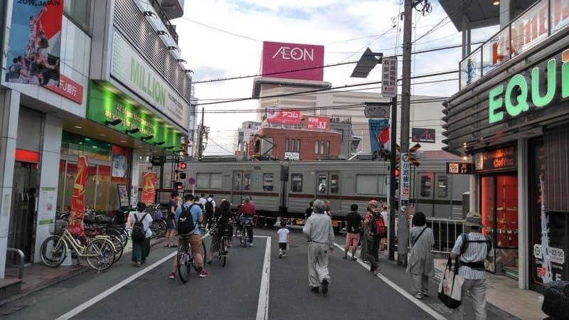 東武練馬駅南口付近