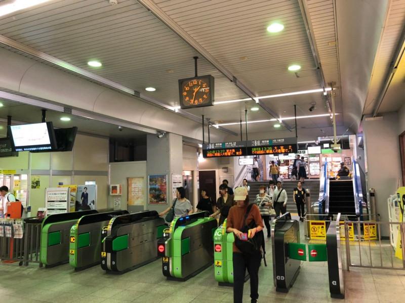 与野本町駅の改札