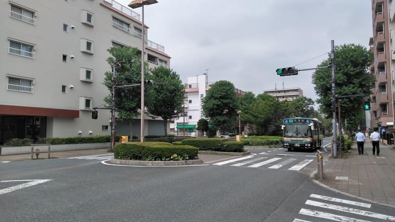 井荻駅南側 環八通り沿い