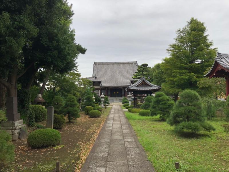 妙顕寺の参道
