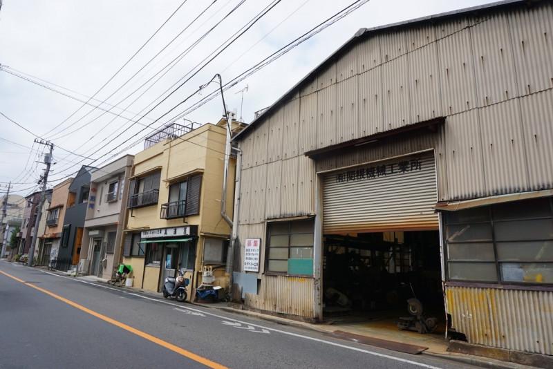 梅田5丁目の工場
