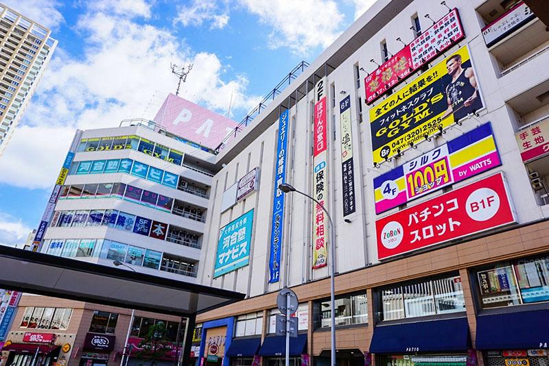JR本八幡駅北口駅前2