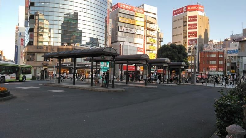 赤羽駅東口 バスロータリー