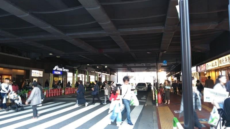赤羽駅北側 高架下