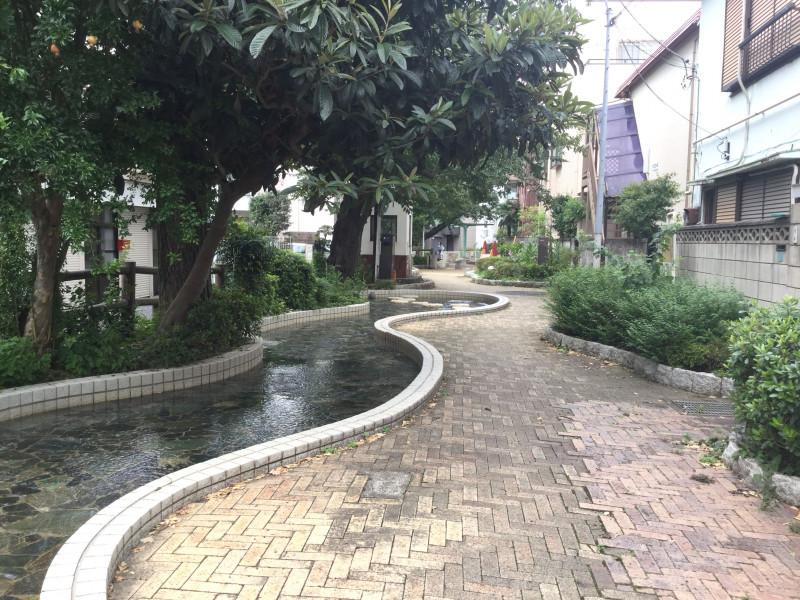 千川親水公園内部