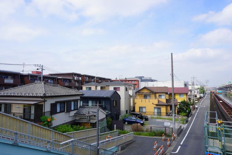 五反野駅周辺の住宅