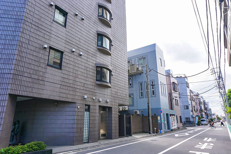 篠崎駅通りの東側の住宅2