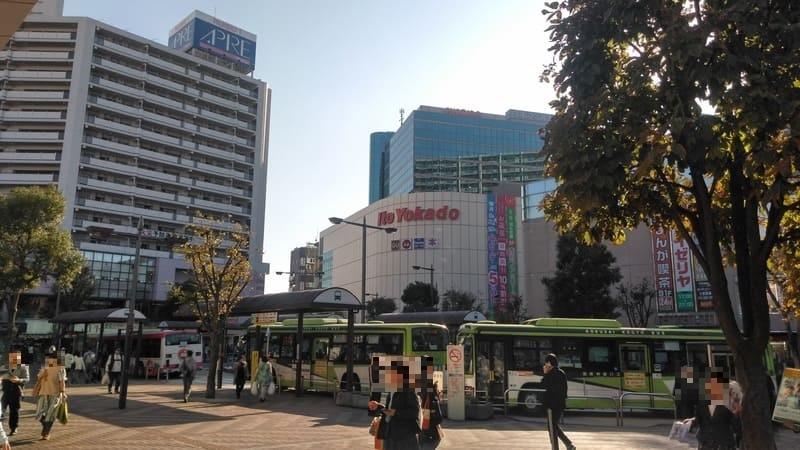 赤羽駅西口前広場