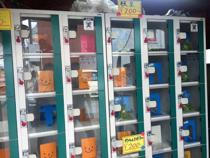 東本町の野菜販売所⓷
