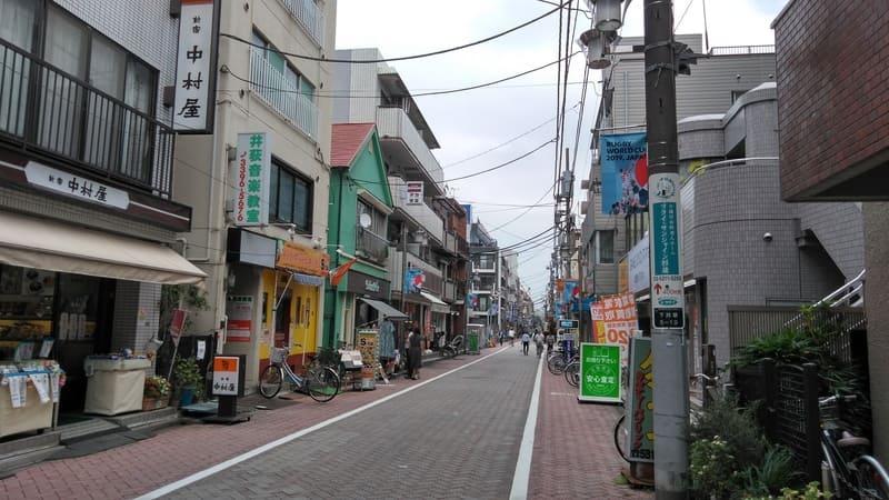 井荻駅南口 商店街