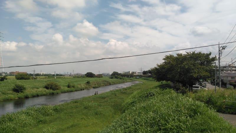 柳瀬川沿い 東側歩道