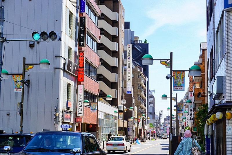 亀有駅前の飲み屋街3