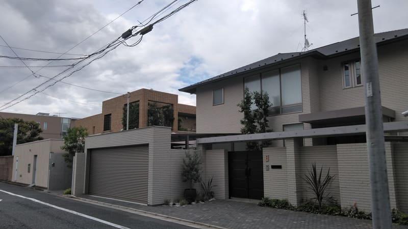 駒込の邸宅