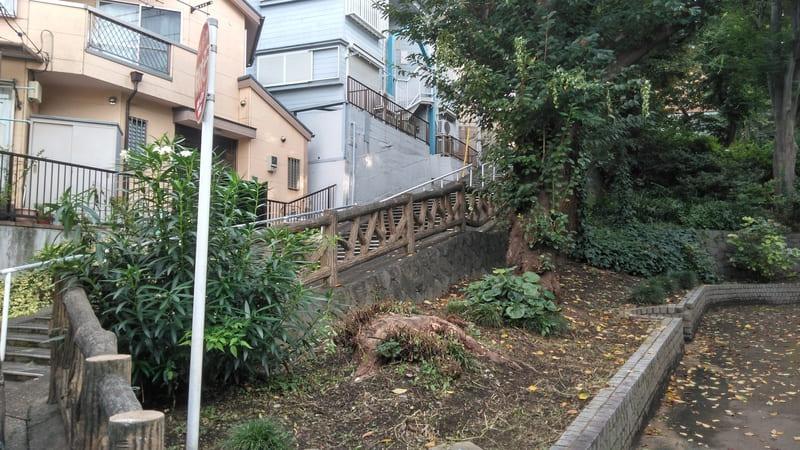 徳丸一丁目公園 横の階段
