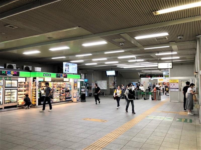北戸田駅の改札