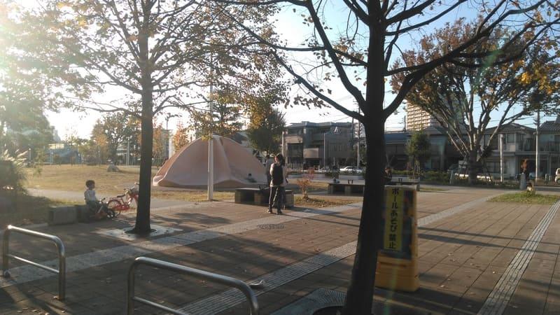 赤羽駅西側 団地エリアの公園