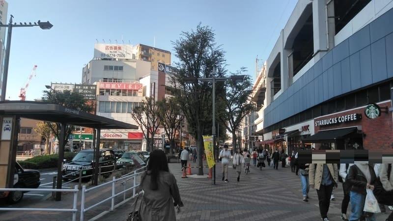 赤羽駅西口前 タクシー乗り場