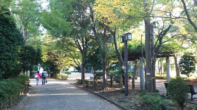 赤羽駅西側 団地エリアの緑地