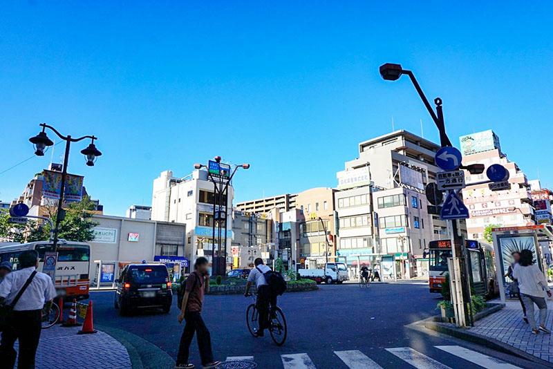 亀有駅前ロータリー
