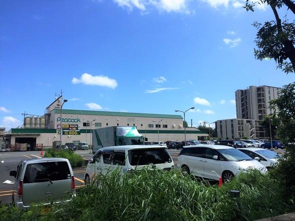 ピーコックストア 東小金井店 駐車場