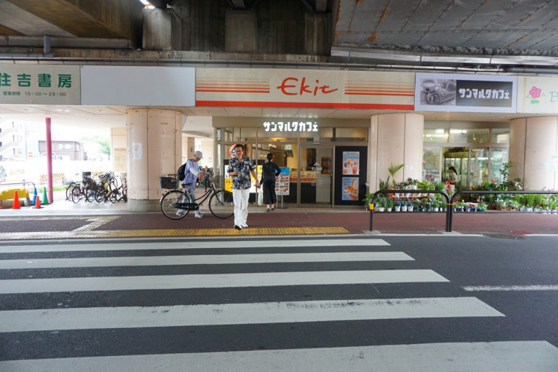 五反野駅前のサンマルクカフェ
