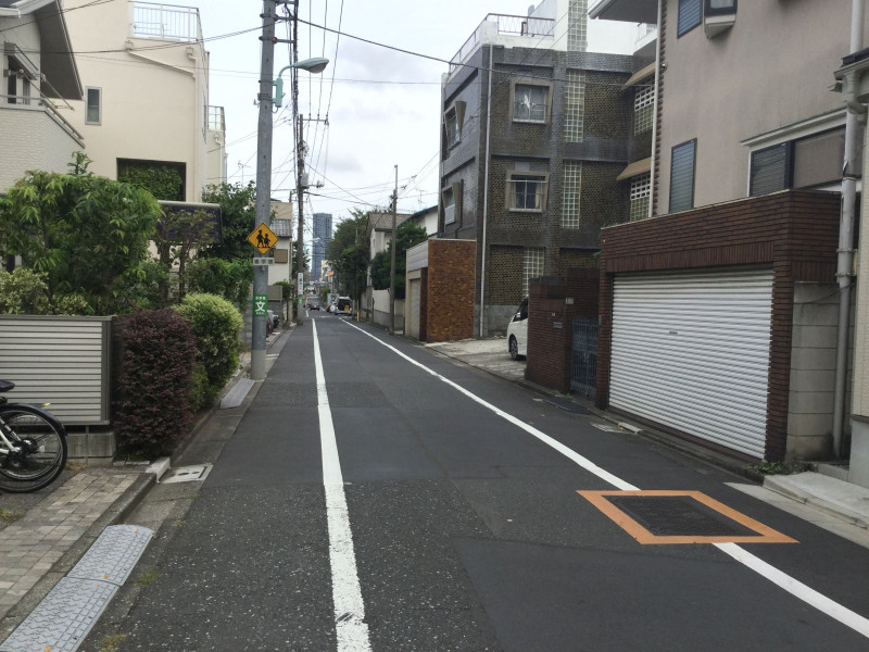 千川駅周辺の住宅街5