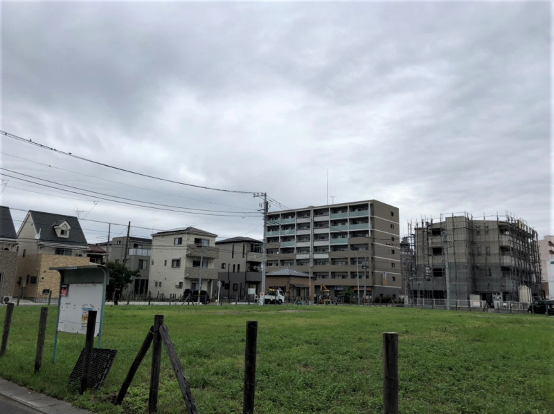 戸田市大字新曽の空き地(戸田駅の近く)